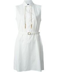 Robe chemise blanche Dsquared2