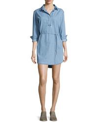 Robe chemise bleue claire Rag & Bone