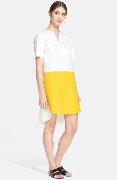 71fd30cbc634 Robe jaune et blanche