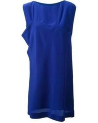 Robe droite bleue original 10070120