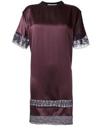 Robe droite bordeaux Givenchy