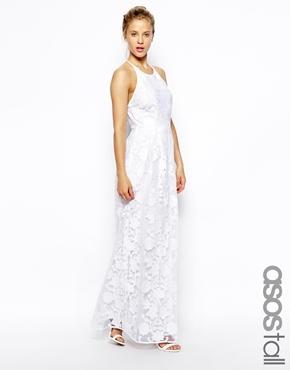 Robe longue blanche canada