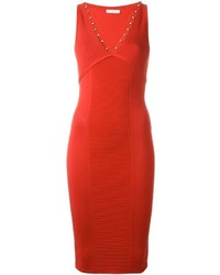 Robe moulante rouge Versace
