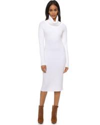 Robe-pull blanche DKNY