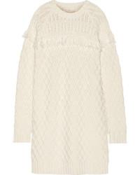 Robe-pull blanche Tory Burch