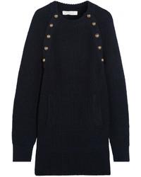 Robe-pull bleue marine Chloé