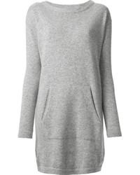 Robe pull grise original 10228396