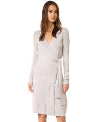 Robe-pull grise Diane von Furstenberg