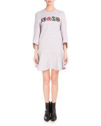 Robe-pull grise Kenzo