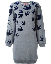 Robe-pull grise McQ by Alexander McQueen