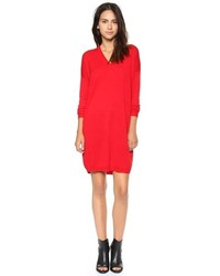Ou trouver une robe pull rouge