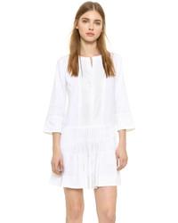 Robe trapèze blanche Vince