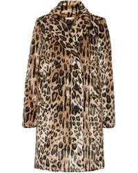 Ropa de abrigo de leopardo