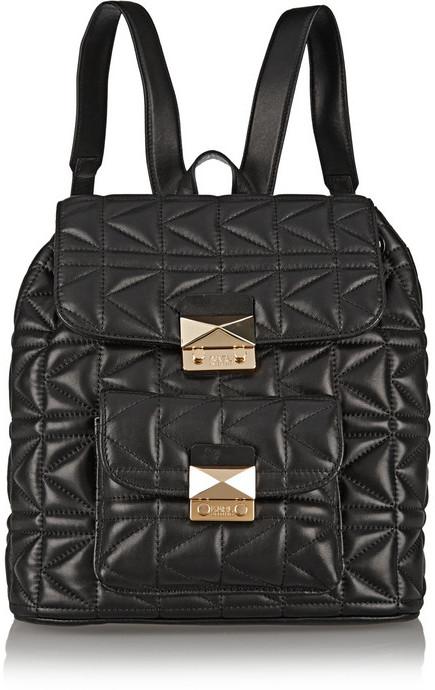 Karl Lagerfeld Kuilted Sac à dos noir 0az6N