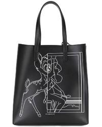 Sac fourre-tout imprimé noir Givenchy