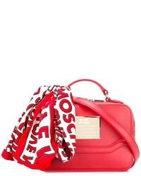 Sac fourre-tout rouge Love Moschino