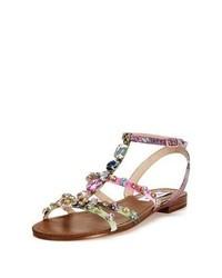 Sandales brunes claires