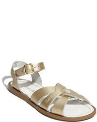 Sandales dorées