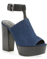 Sandalias azul marino de Rebecca Minkoff