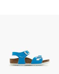 Sandalias azules de Birkenstock