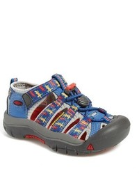Sandalias azules de Keen