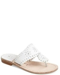 Sandalias blancas de Jack Rogers