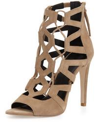 Sandalias de ante marrón claro de Rebecca Minkoff