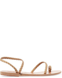 Sandalias de cuero en beige de Ancient Greek Sandals