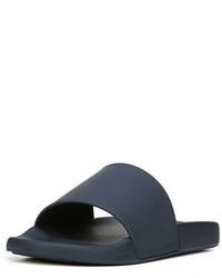 Sandalias de goma azul marino de Vince