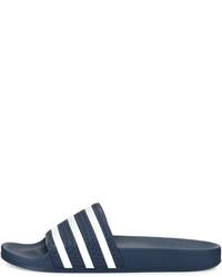 Sandalias de goma azules de adidas