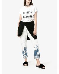 Sandalias de goma negras de Givenchy