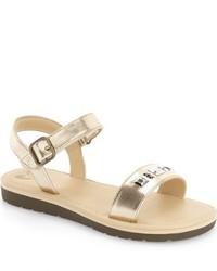 Sandalias doradas de Stride Rite