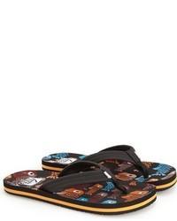 Sandalias en marrón oscuro de Reef