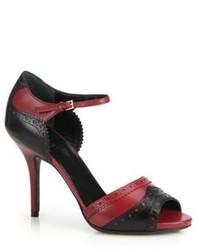 Combinar Moda En Looks Negro167 Sandalias De Unas Cómo Rojo Y PZN8On0wkX