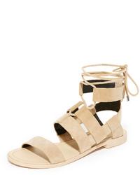 Sandalias marrón claro de Rebecca Minkoff