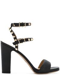 Sandalias negras de Valentino