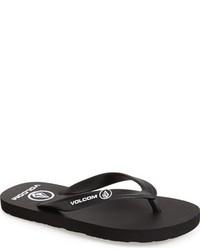 Sandalias negras de Volcom