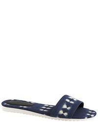 Sandalias planas azul marino de J.Crew