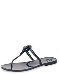 Sandalias planas azules de Tory Burch