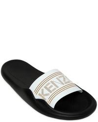 Sandalias planas de goma blancas de Kenzo