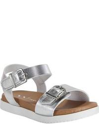 Sandalias plateadas de Nina
