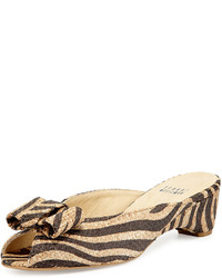 Sandalias tejidas marrón claro