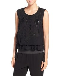 Sequin sleeveless top original 4005341