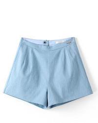 Short bleu clair original 2892255