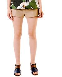 Short brun clair Marni