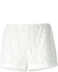 Short en dentelle blanc MSGM