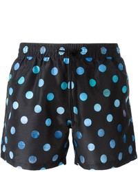 Shorts de baño a lunares negros de Paul Smith
