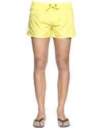 Shorts de baño amarillos de Diesel