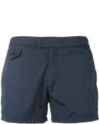 Shorts de baño azul marino de MC2 Saint Barth