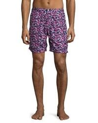 Shorts de baño azul marino de Peter Millar
